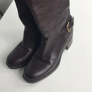 💥💥Authentic PRADA Leather Boots 1U408F size 37💥